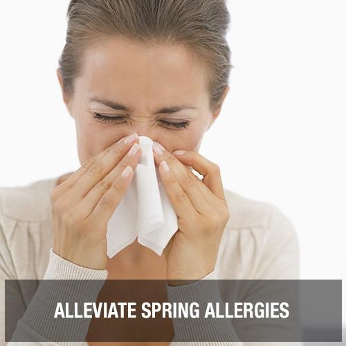 Alleviate Spring Allergies