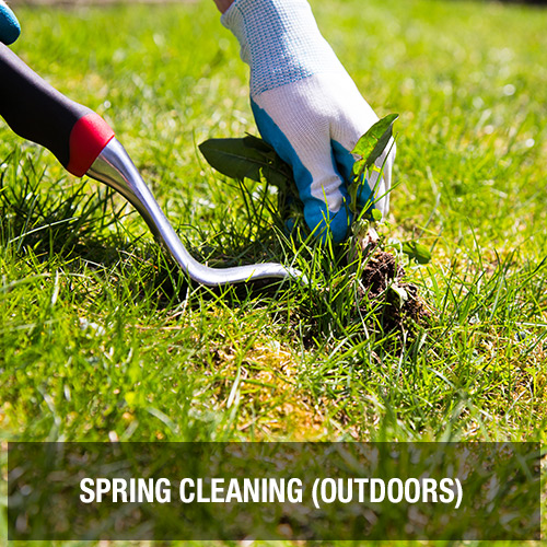 Spring Cleaning (Outdoors)