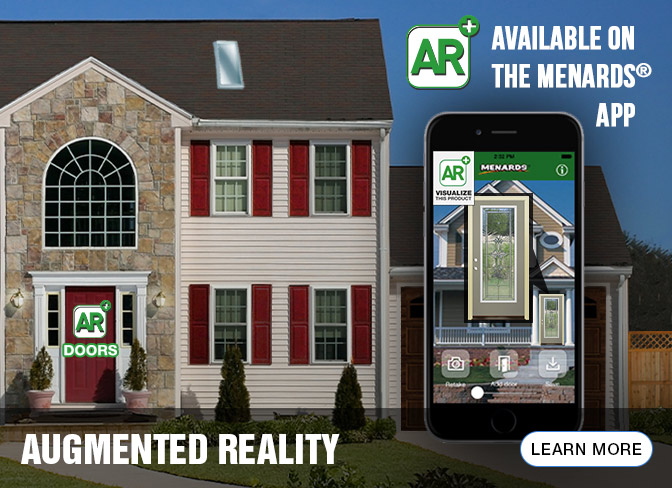 The Menards To Use Augmented Reality Visualize Your New Door