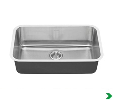 Kitchen Sinks at Menards® on 60 white sink, 60 top sink, double faucet sink, 60 wave sink, cardboard sink, 48 bathroom sink,