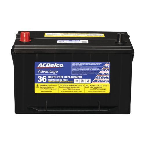 Ac Delco Battery Warranty >> Automotive Batteries At Menards