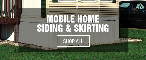 Sensational Mobile Home Exterior Products At Menards Home Interior And Landscaping Palasignezvosmurscom