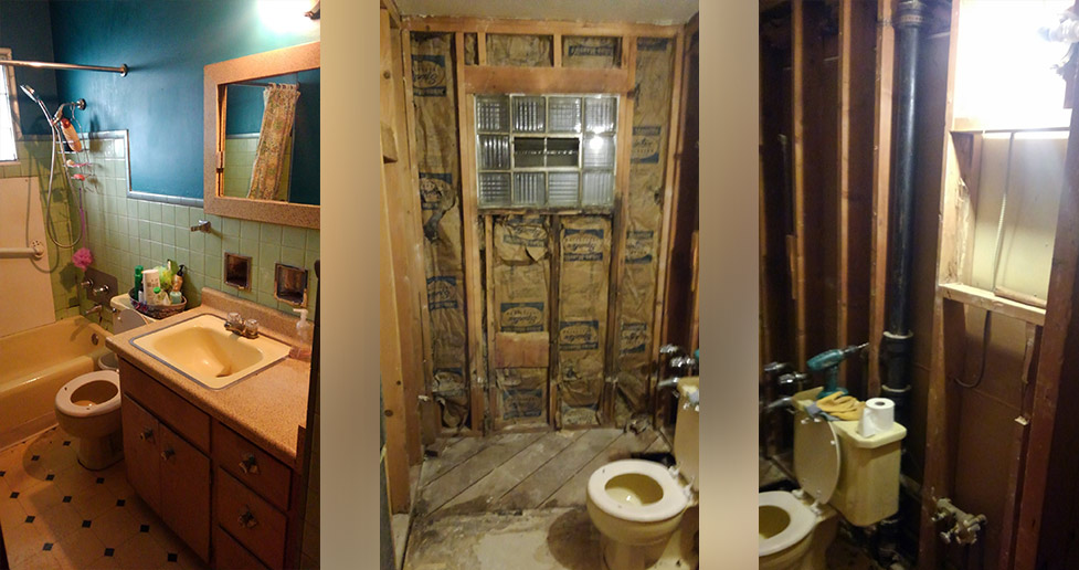 1950s Bathroom Remodel Project By April At Menards