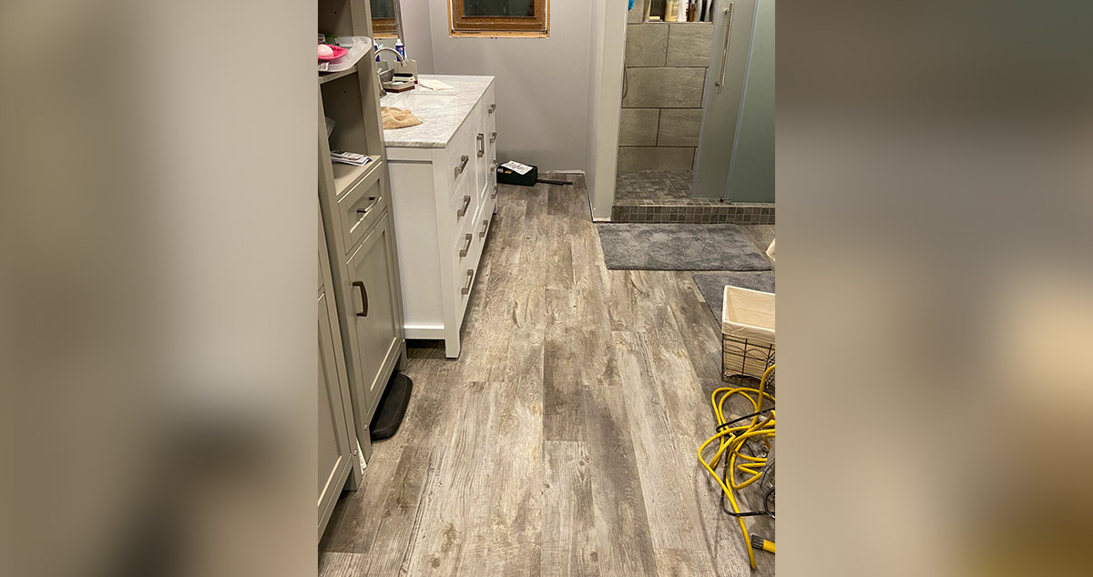 1950s Bathroom Remodel Expansion Project By Teresa At Menards