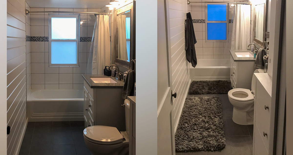 Small Bathroom Remodel Project By