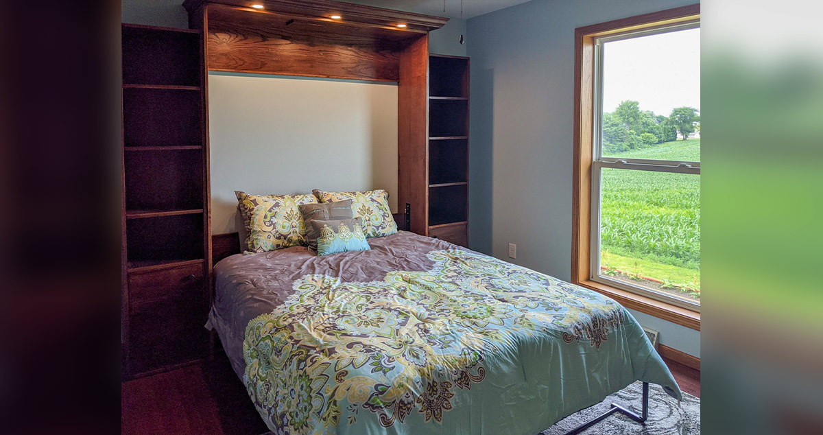 Guest Room Murphy Bed Project By Nekole Daniel At Menards