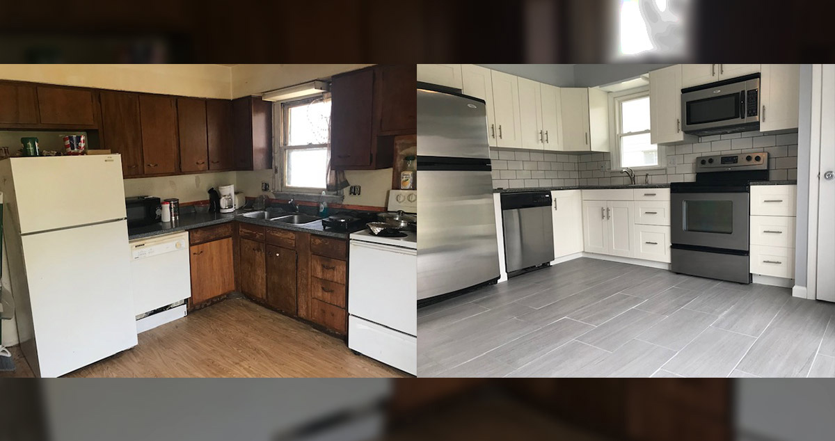 1970s Kitchen Remodel Project By Angie At Menards