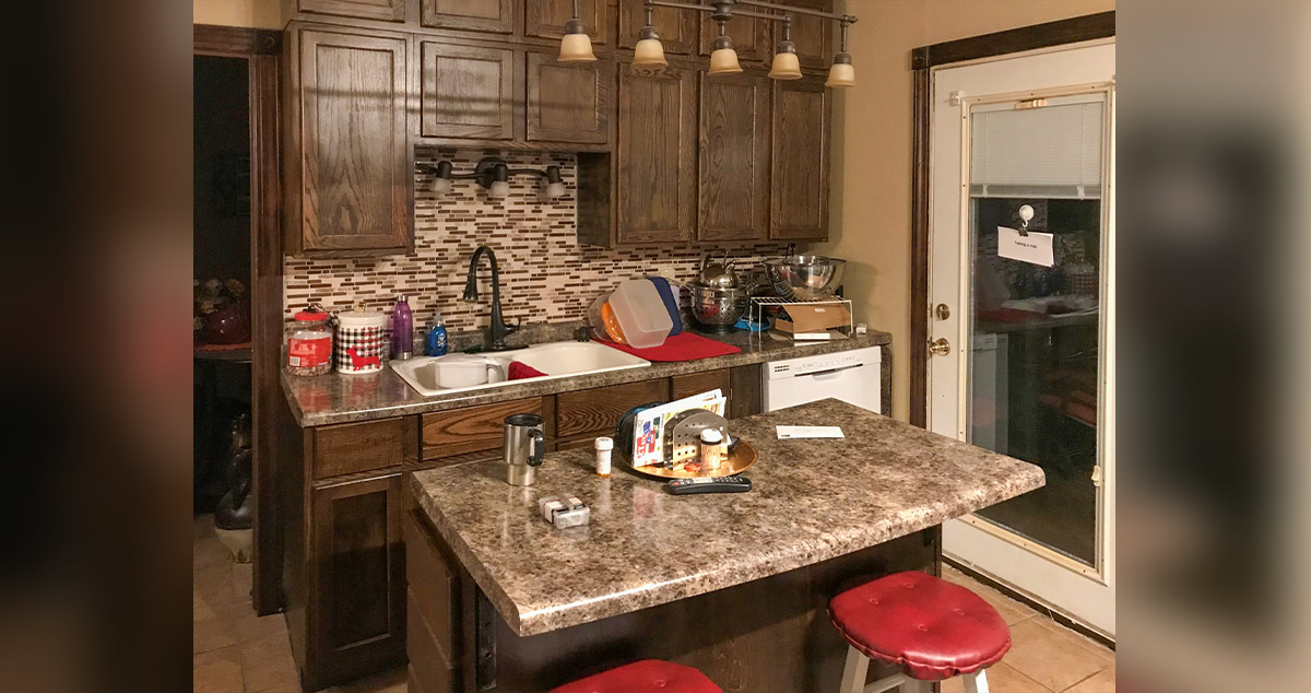 Kitchen With Coffee Bar Project By Michael At Menards