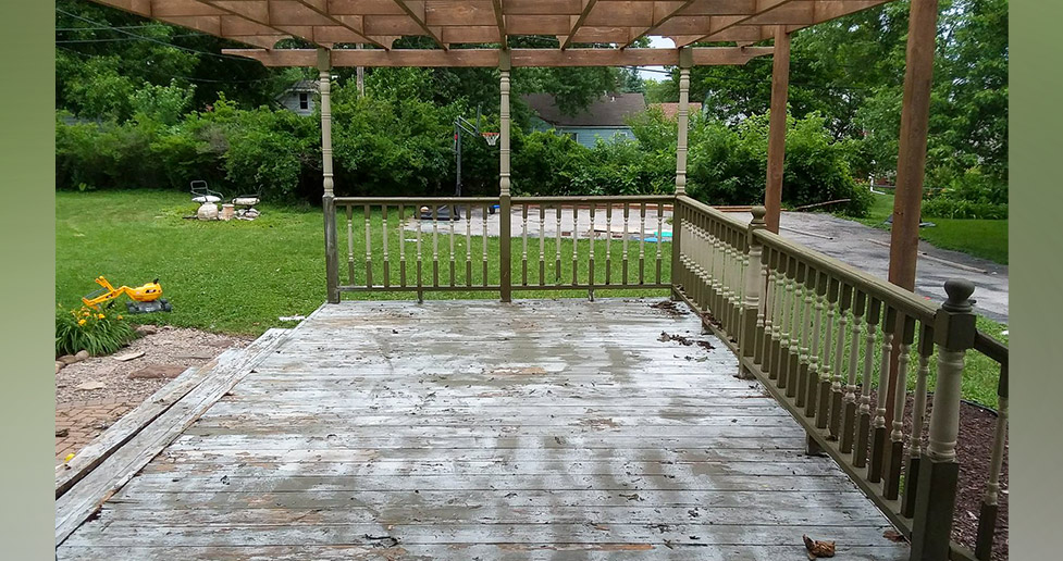 Deck Remodel Project By Jerome At Menards