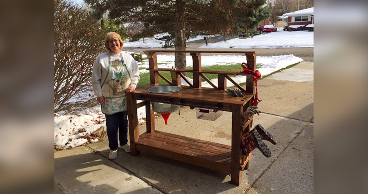 Lakewood 3 Person Swing, Deluxe Gardeners Potting Bench Project By Bradley At Menards