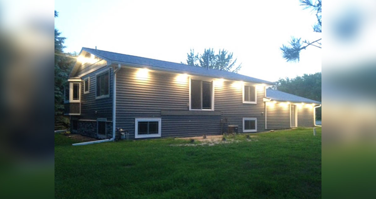 Driftwood Gray Composite Deck Project By Sheridan At Menards
