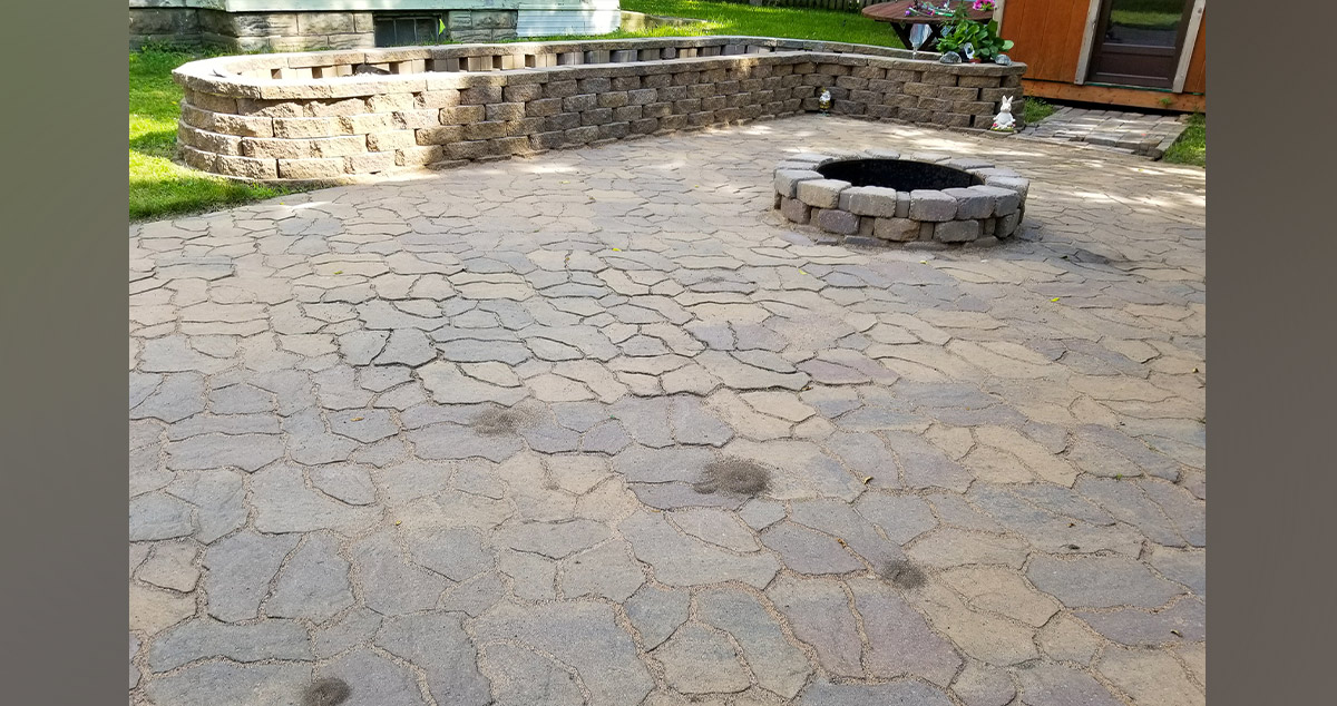 Patio Wall Project By Josh At Menards 174