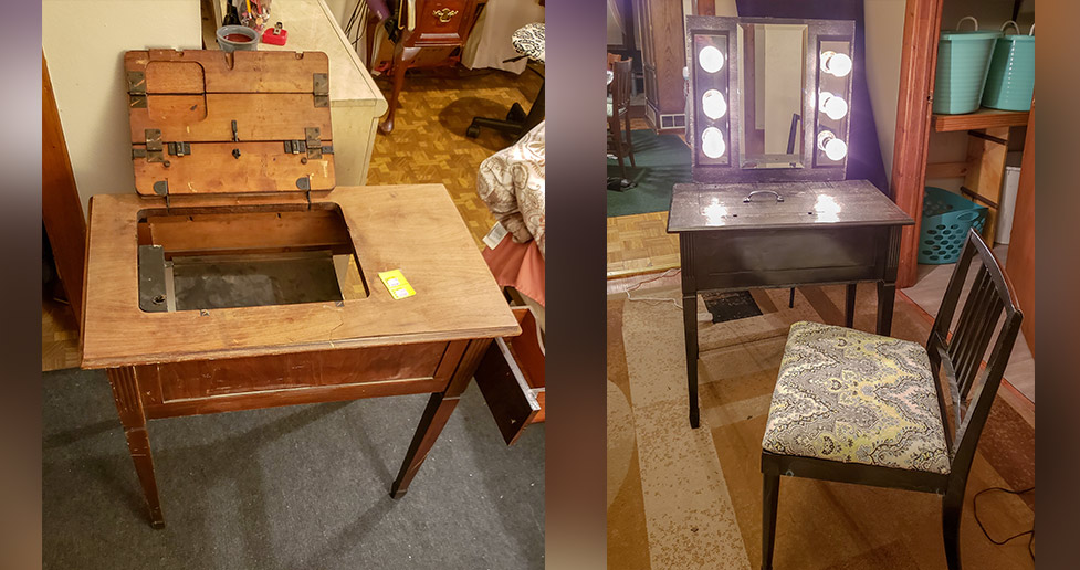 Sewing Table In Store