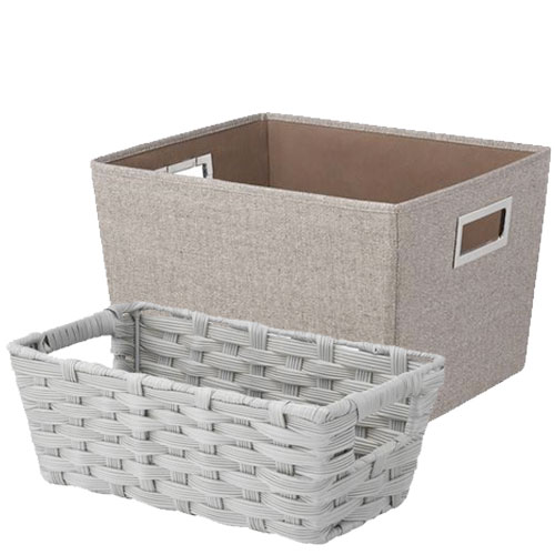 round cute small decorative bulk willow baskets with rope.htm storage totes   bins at menards    storage totes   bins at menards
