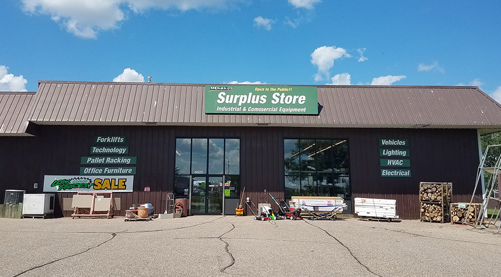 Surplus Store at Menards®