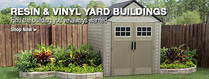 sheds outdoor storage accessories at menards