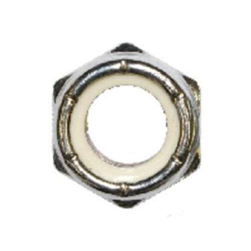 100 QTY 1//4 Inch x 20 Kep Lock Nut ZP