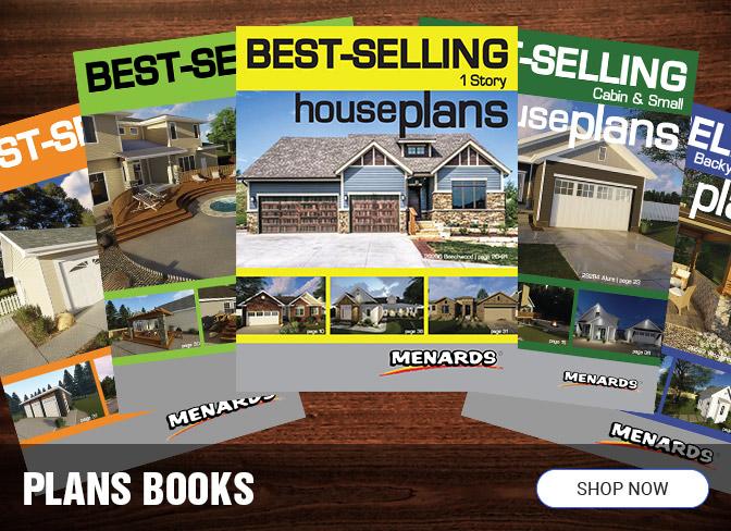 Books  Building  Plans  at Menards