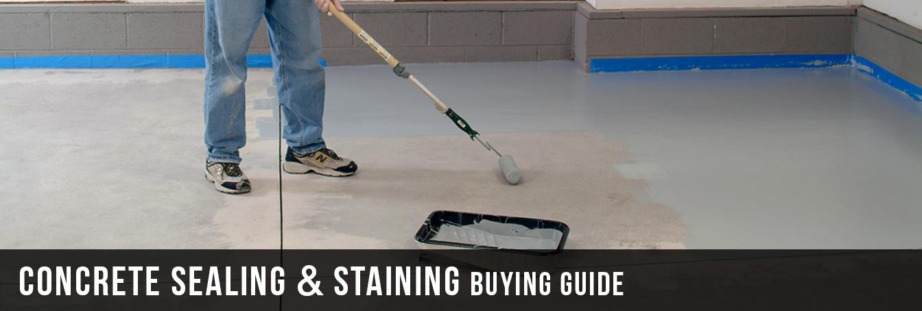 Concrete Sealing & Staining Buying Guide at Menards®