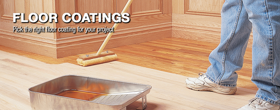 Floor Coatings Buying Guide At Menards