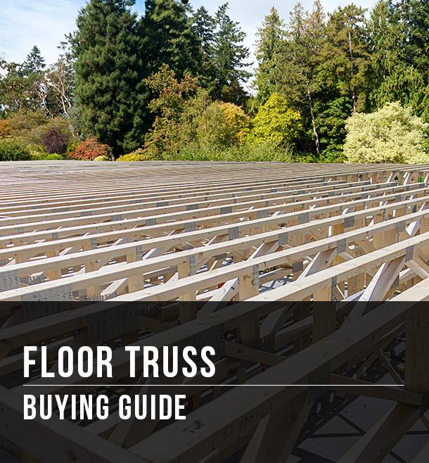 Floor Truss Ing Guide At Menards