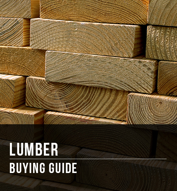Lumber Buying Guide At Menards