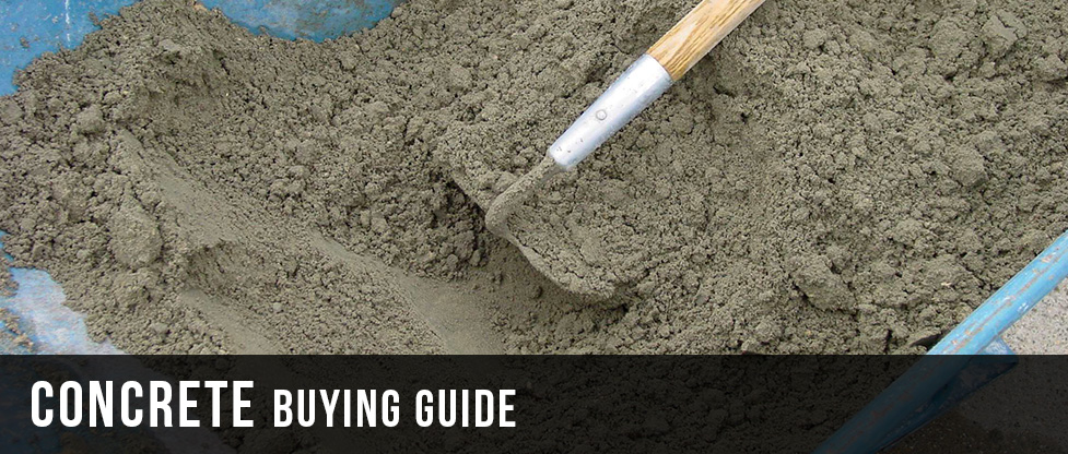 Concrete Buying Guide at Menards®