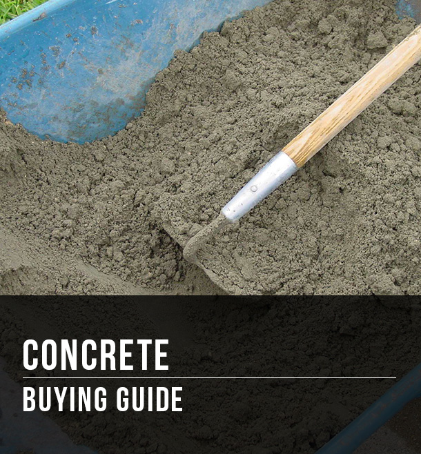 Concrete Ing Guide At Menards