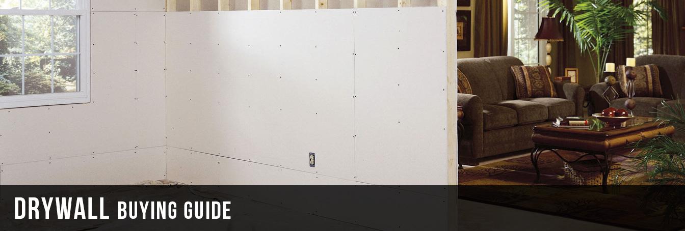 Drywall Buying Guide at Menards®