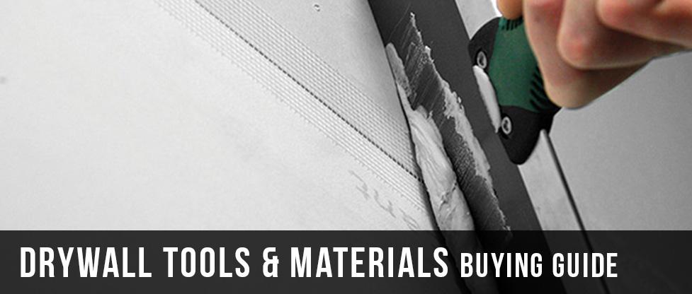 Drywall Tools & Materials Buying Guide at Menards®