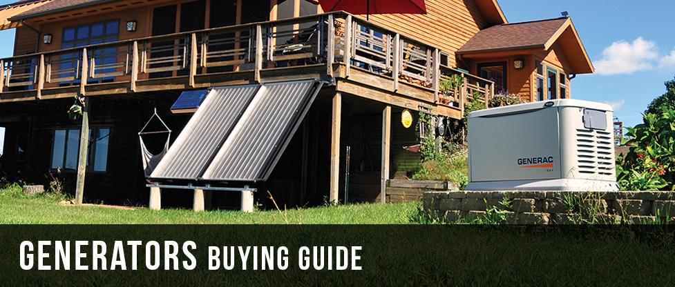 Generators Buying Guide at Menards®
