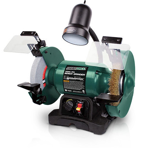 Sensational Masterforce Corded 8 Variable Speed Bench Grinder At Menards Creativecarmelina Interior Chair Design Creativecarmelinacom