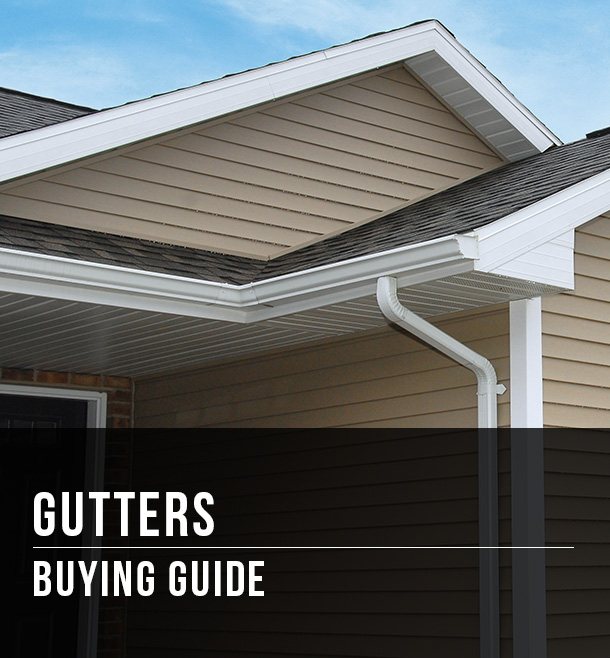 Gutters Buying Guide At Menards