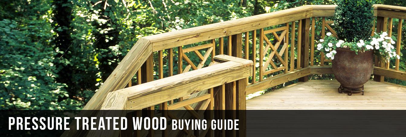 Pressure Treated Wood Buying Guide at Menards®