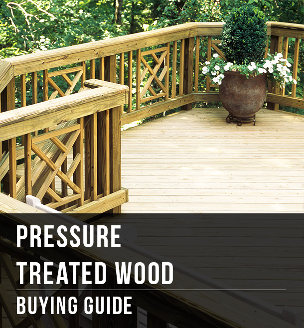 Pressure Treated Wood Buying Guide At Menards