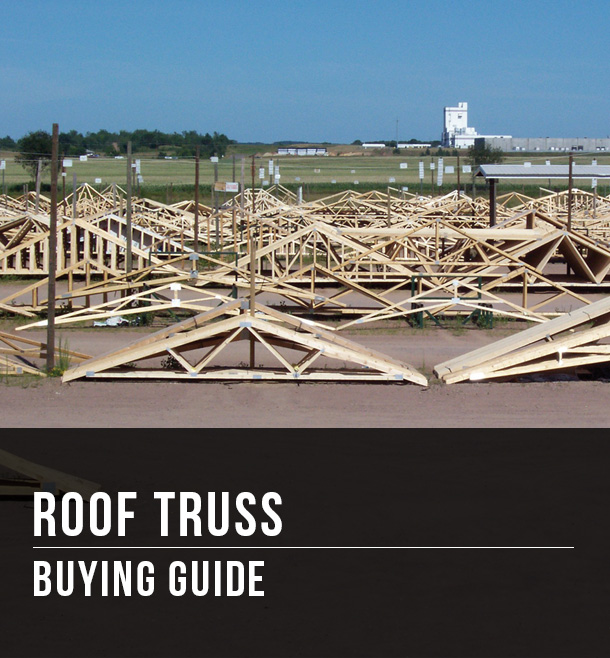 Roof Truss Buying Guide At Menards