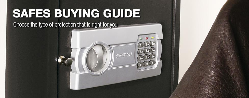safes buying guide at menards