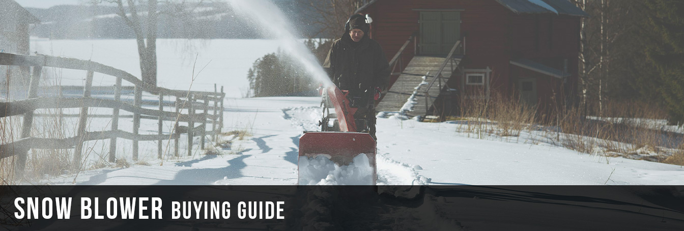 Snow Blower Buying Guide at Menards®
