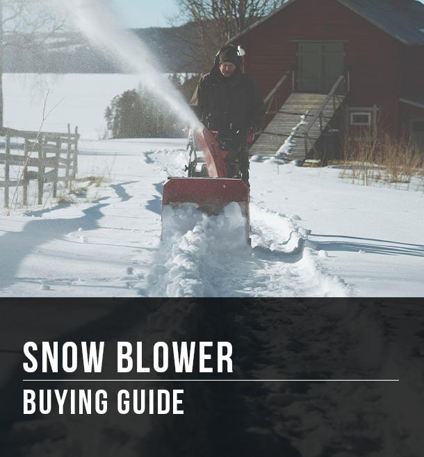 Menards Snow Blowers >> Snow Blower Buying Guide At Menards