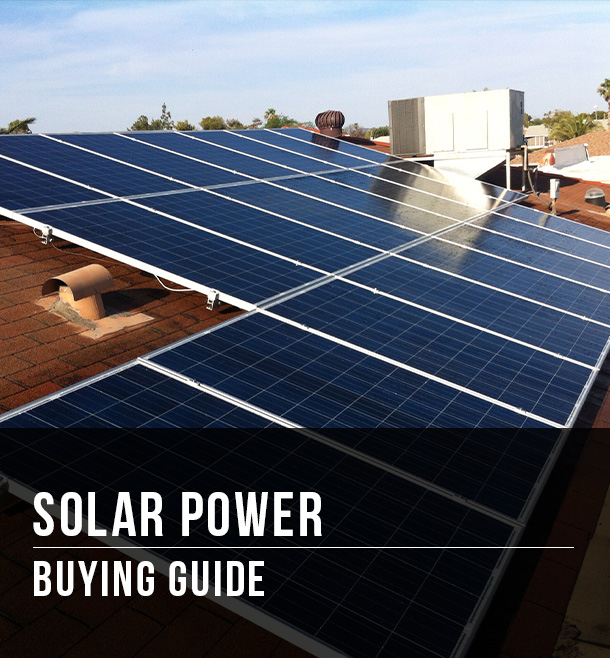 Solar Power Buying Guide at Menards®