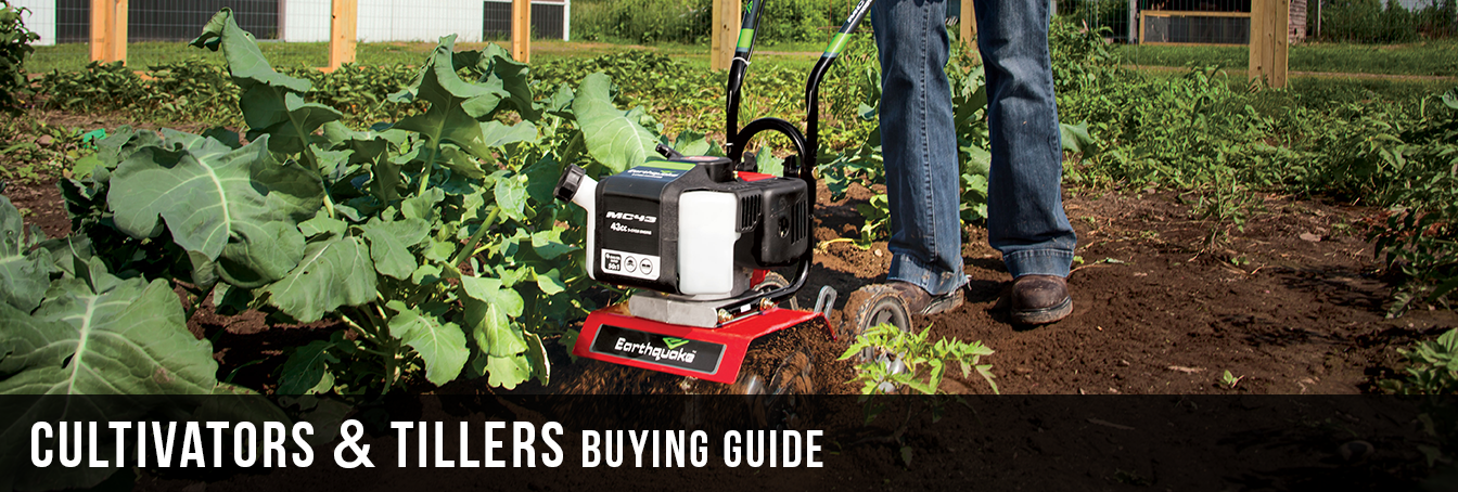 Cultivators & Tillers Buying Guide at Menards®