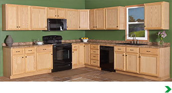 Menard Kitchen Cabinets Unfinished Oak