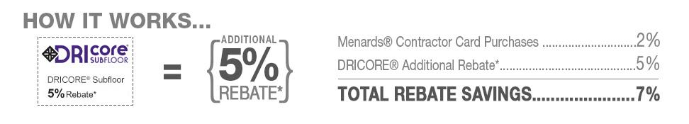 Contractor Card at Menards®
