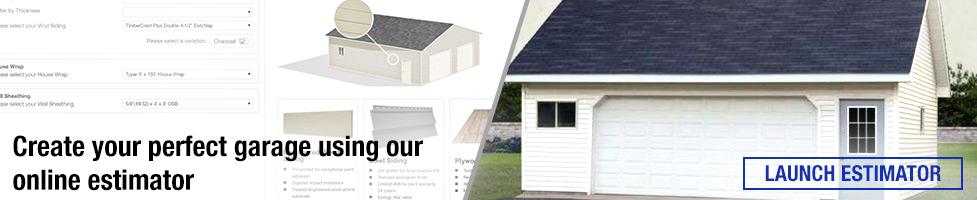 Garage Estimator at Menards®