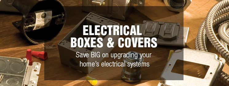 electrical boxes covers at menardsa