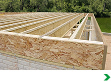 Engineered floor joist carpet review for Pre engineered trusses