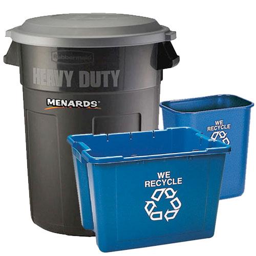 Trash Cans & Recycle Bins at Menards®