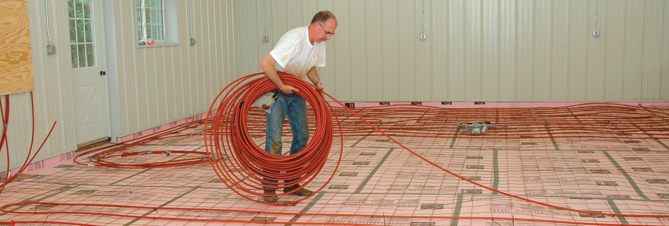 Hydronic Radiant Heat at Menards®