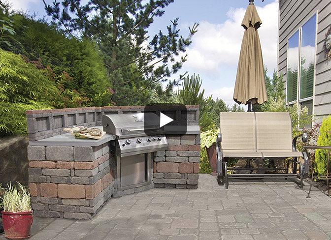 Outdoor Kitchens at Menards®