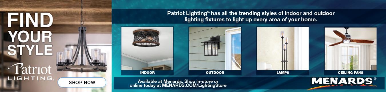 Indoor Lighting At Menards
